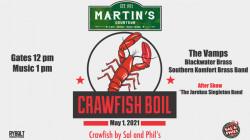 Martin's Crawfish Boil